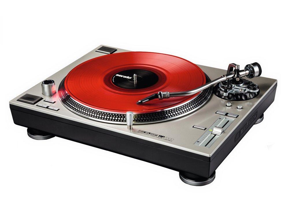 Reloop's flagship Hi-Torque direct drive turntable.