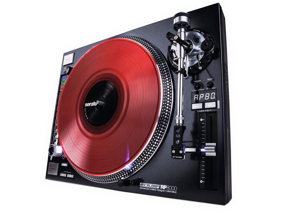 Reloop's groundbreaking hi-torque turntable with integrated MIDI control