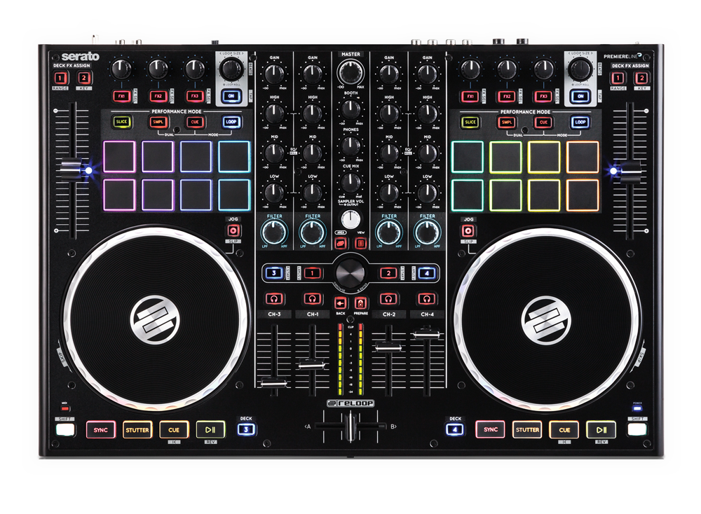 Reloop's new flagship Serato DJ controller, meet the TM8!