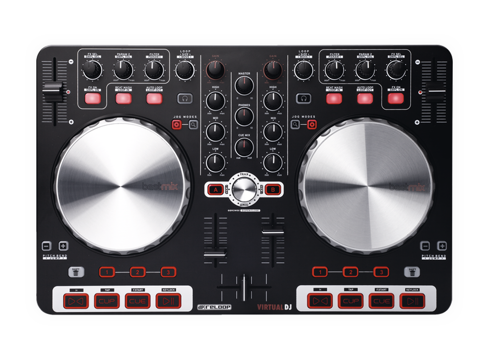 Reloop BeatMix Virtual DJ Controller