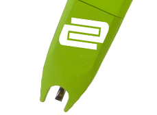 Replacement Stylus for the Reloop Concorde Green Cartridge.