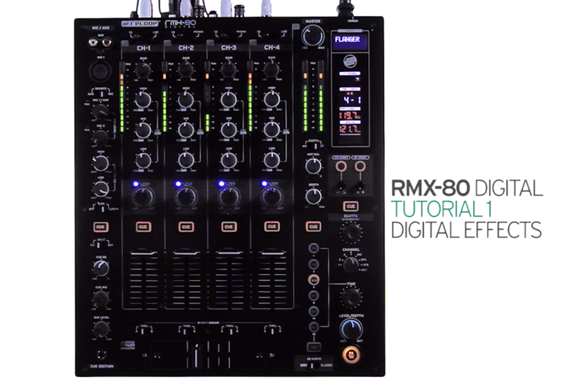 RMX 80 Digital - Tutorial 1